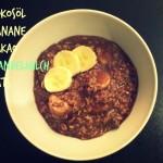 Rezept: Bananen-Schoko-Porridge mit Kokosflavour