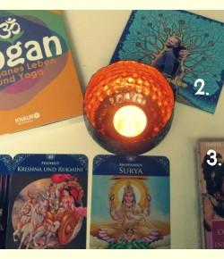 Entdeckt: Yogan – das Buch, Gaiatrees & Hindu-Orakelkarten