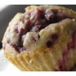 Rezept für sommerliche Himbeer Kokos Muffins