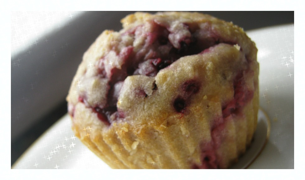 Himbeer Kokos Muffins
