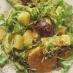 Rezept: Gerösteter Salat mit Dukkah (mega lecker!)