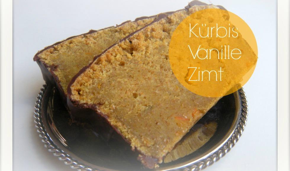 Kürbis Vanille Kuchen