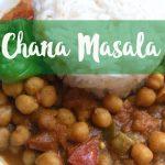 Chana Masala: Selbstgemachtes indisches Kichererbsen Curry