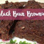 Black Bean Brownies | vegan, glutenfrei, mega saftig!