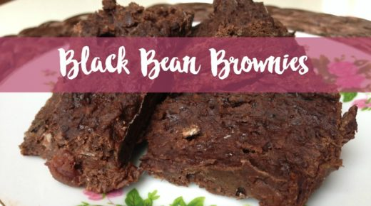 Black Bean Brownies | vegan, glutenfrei, mega saftig!