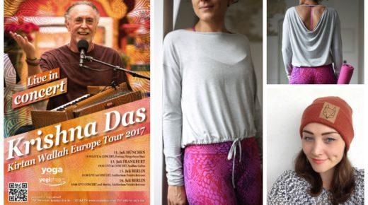 Entdeckt: Krishna Das in Deutschland, Kismet Yoga Top & Róka – fair clothing